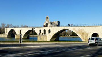 Pont D'Avignon, Avignon, Vaucluse, Provence, France