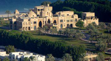 A view of a Dubai Sheik's property in Dubai
