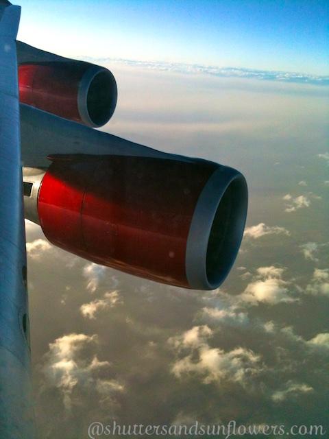 Virgin Atlantic mid flight