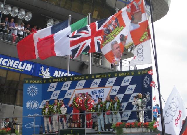 Le Mans winners at Le Mans, France