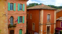 By the Marie in Roussillon, Luberon, Provence