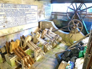 Paper production inside the Paper Mill in Fontaine de Vaucluse, France