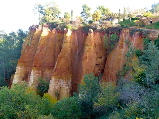 The Gorge in Rousillon, Luberon, Provence, France