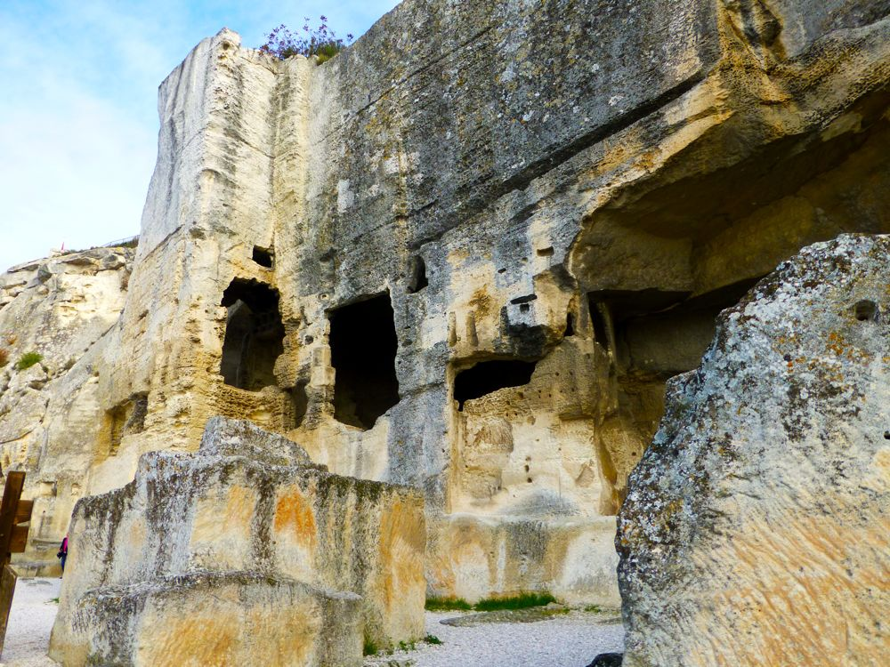 Ruins of the chateau at Les Baux de Provence