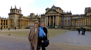 Blenheim Palace at Christmas, Woodstock, England