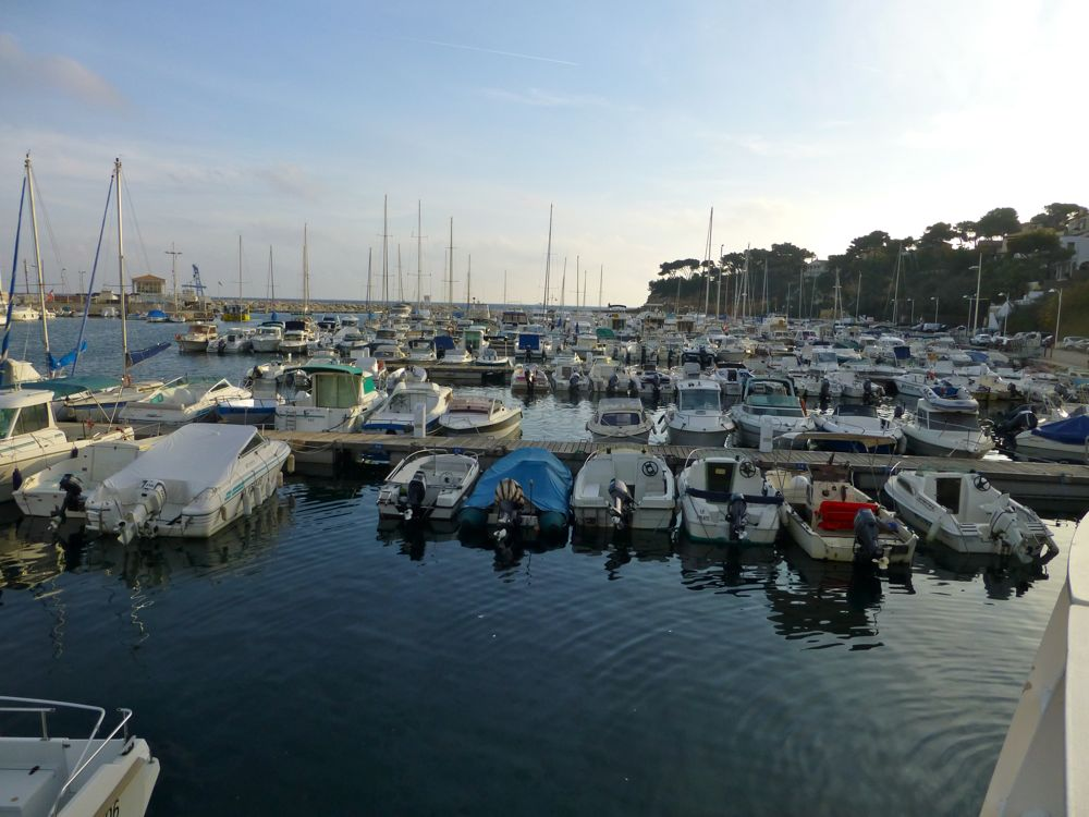 The harbor at Carry le Rouet near Marseilles, Provence, France