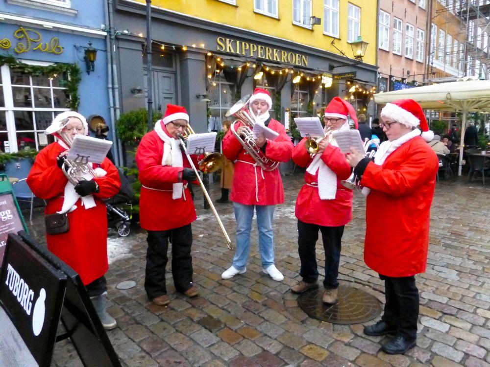 Danish carol singers in Copenhagen, Denmark