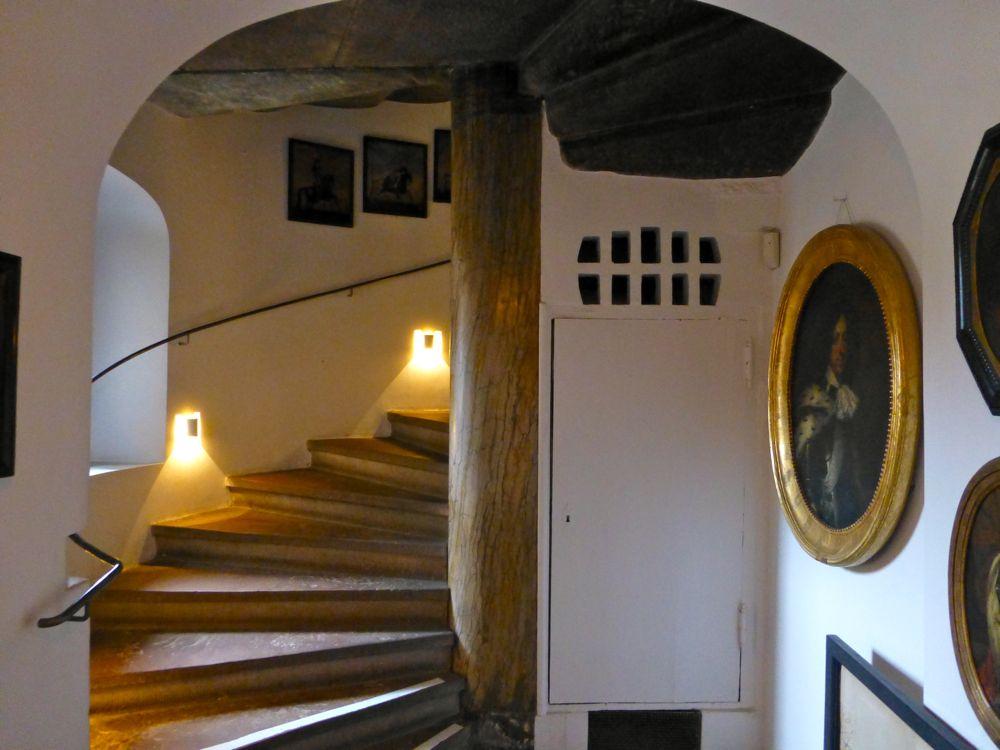 Stairway at the Rosenborg Palace, Copenhagen
