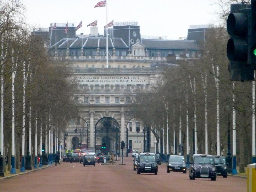 Admiralty Arch, The Mall, London, England, Christmas 2012