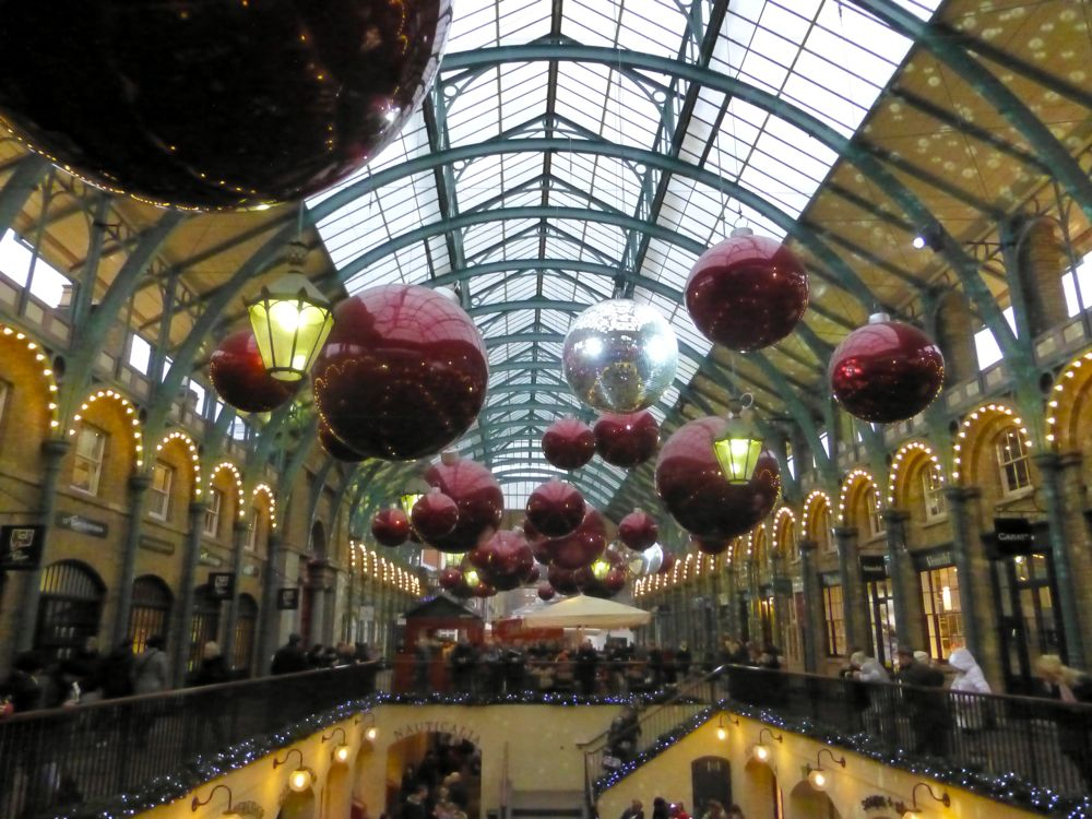 Covent Garden Market, London, Christmas 2012