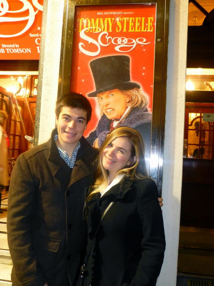 Scrooge at the Palladium Theatre, London, England