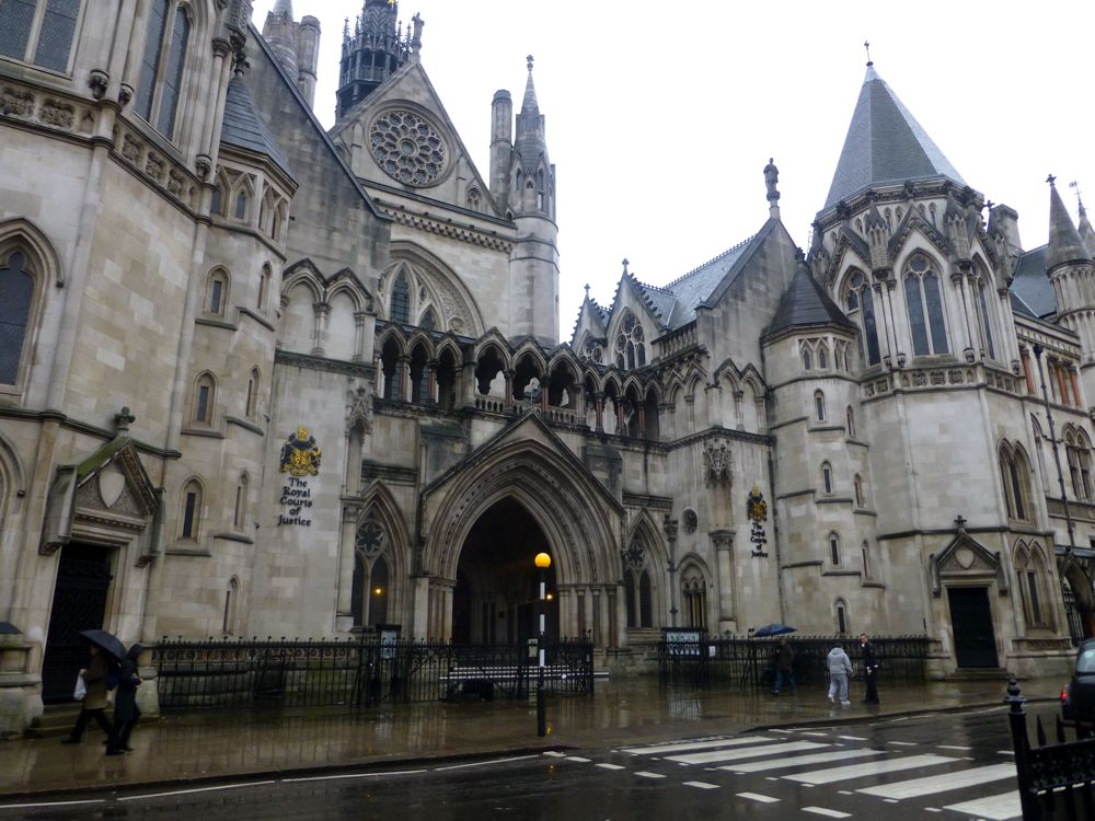 Royal Courts, London, England