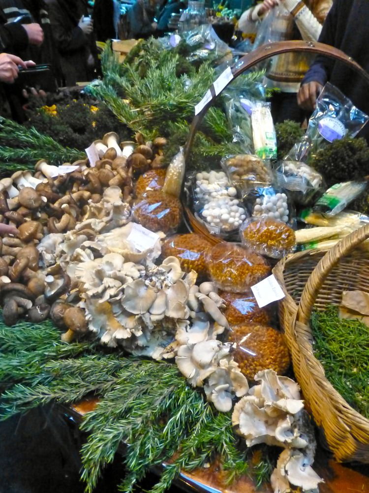 Truffles at London's Borough Market, Christmas 2012
