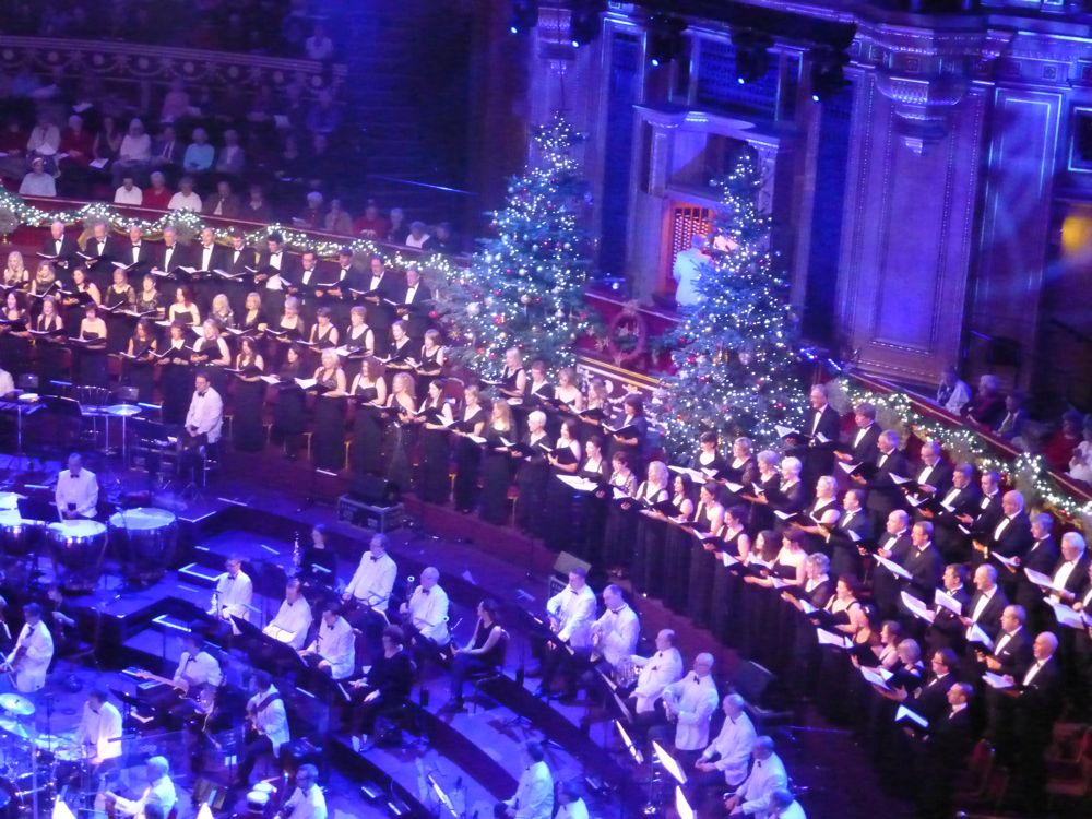 Christmas Concert in Royal Albert Hall, London, England, December 2012