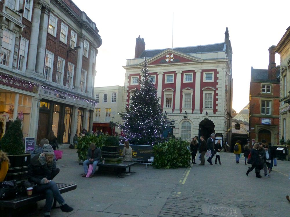 The Guild Hall, York, England, Christmas 2012