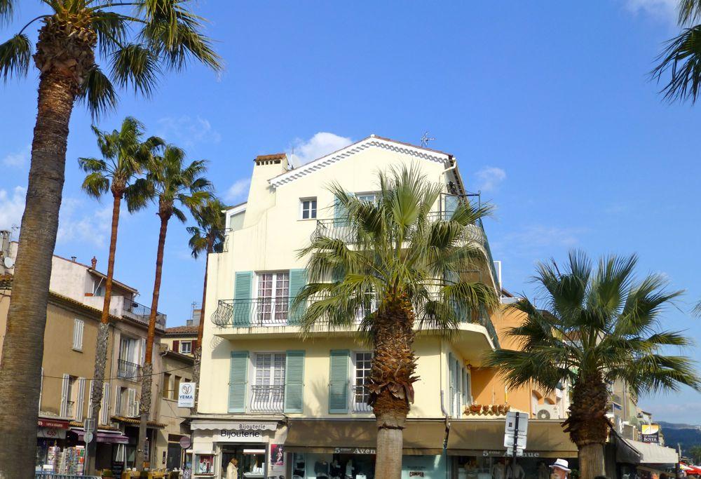 Bandol architecture, Provence, France