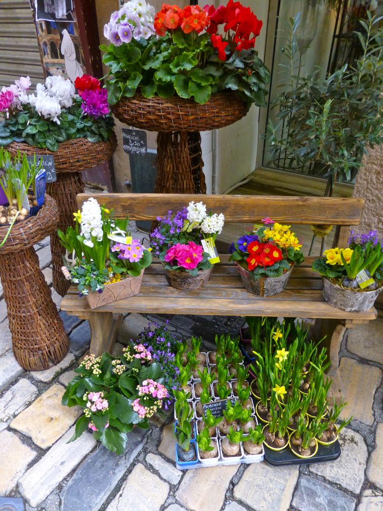 Florist in Apt, Luberon, Provence, France