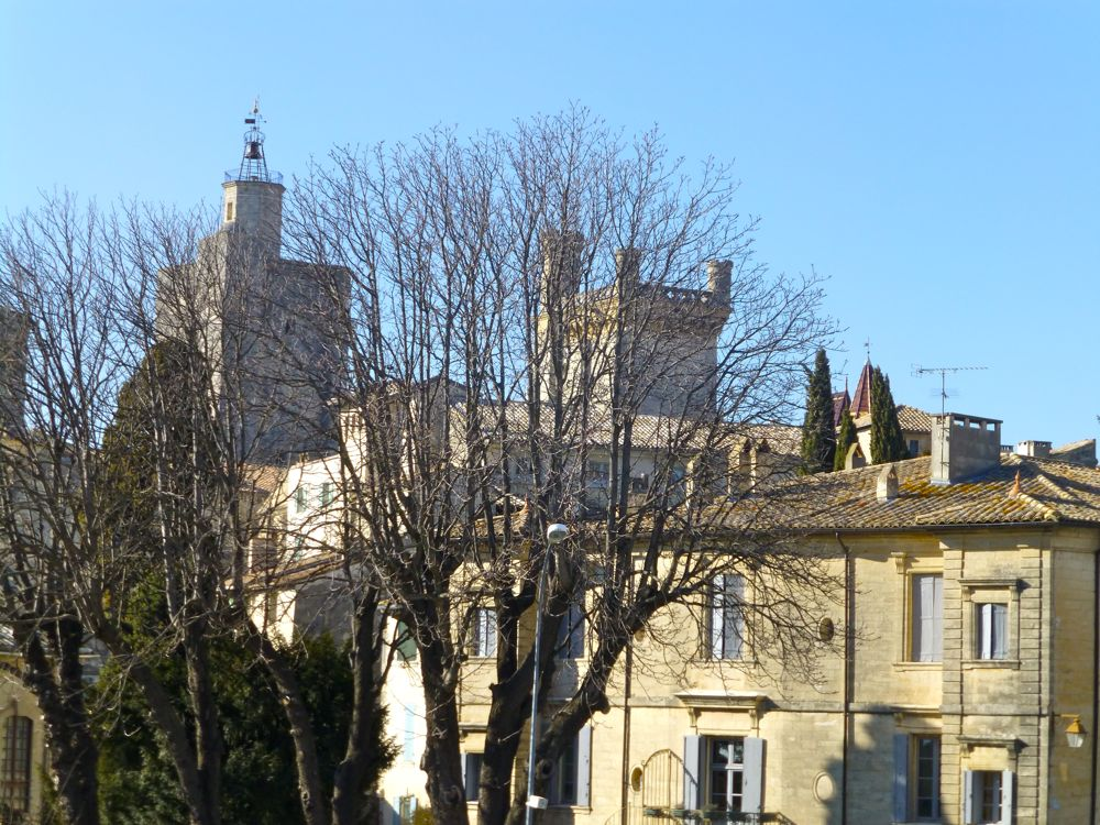 View in Uzes, Languedoc Rousillon, France