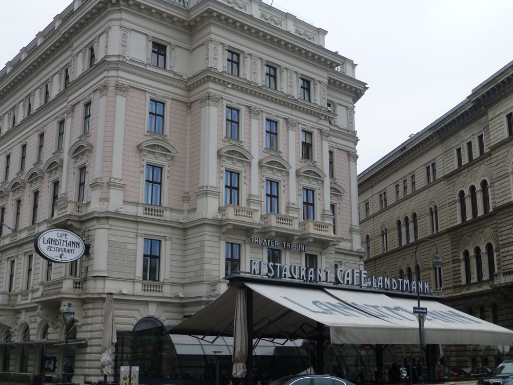 A Viennese coffee shop