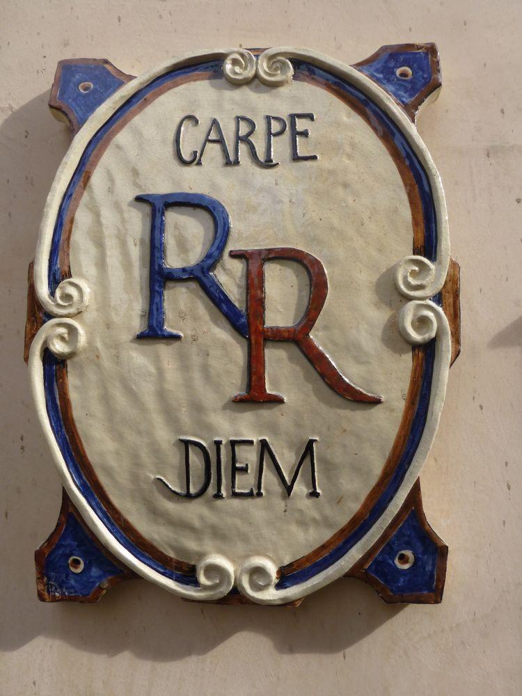 Motto of Relais Ristori Inn, Verona, Italy