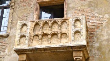 Juliette's Balcony, Verona, Italy