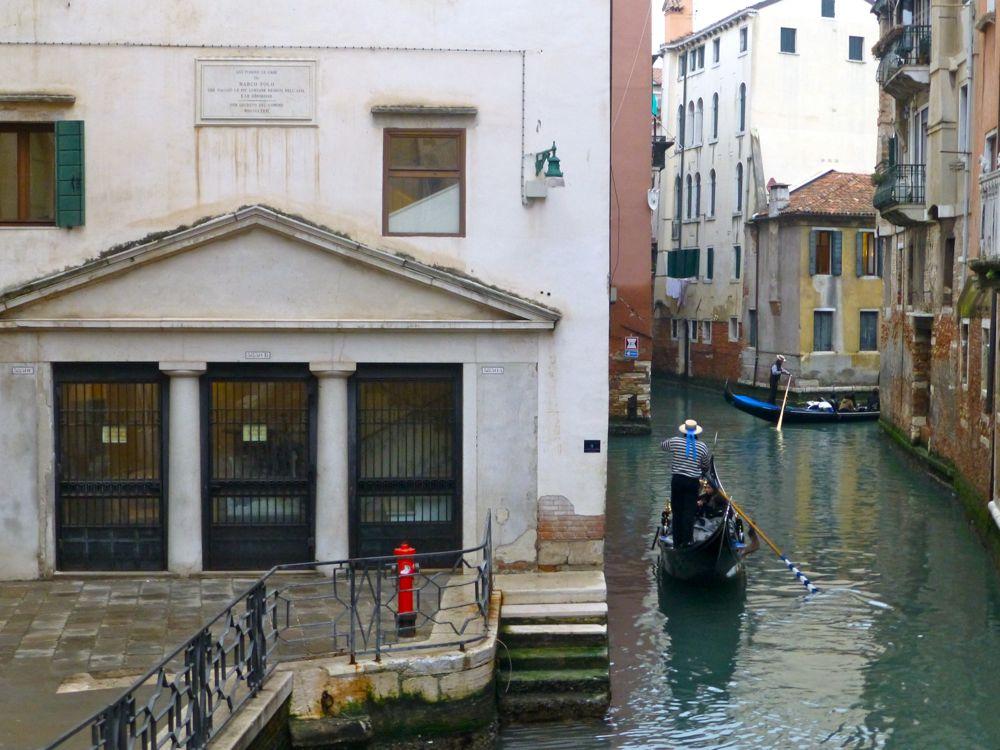 Marco Polo's home, Venice, Italy