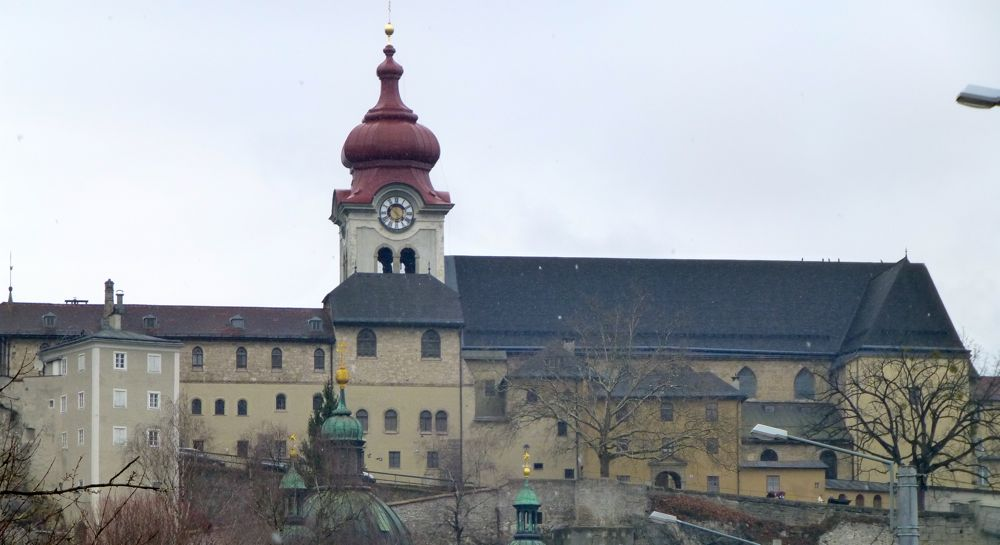 Nonnberg Abbey where Maria was a novice