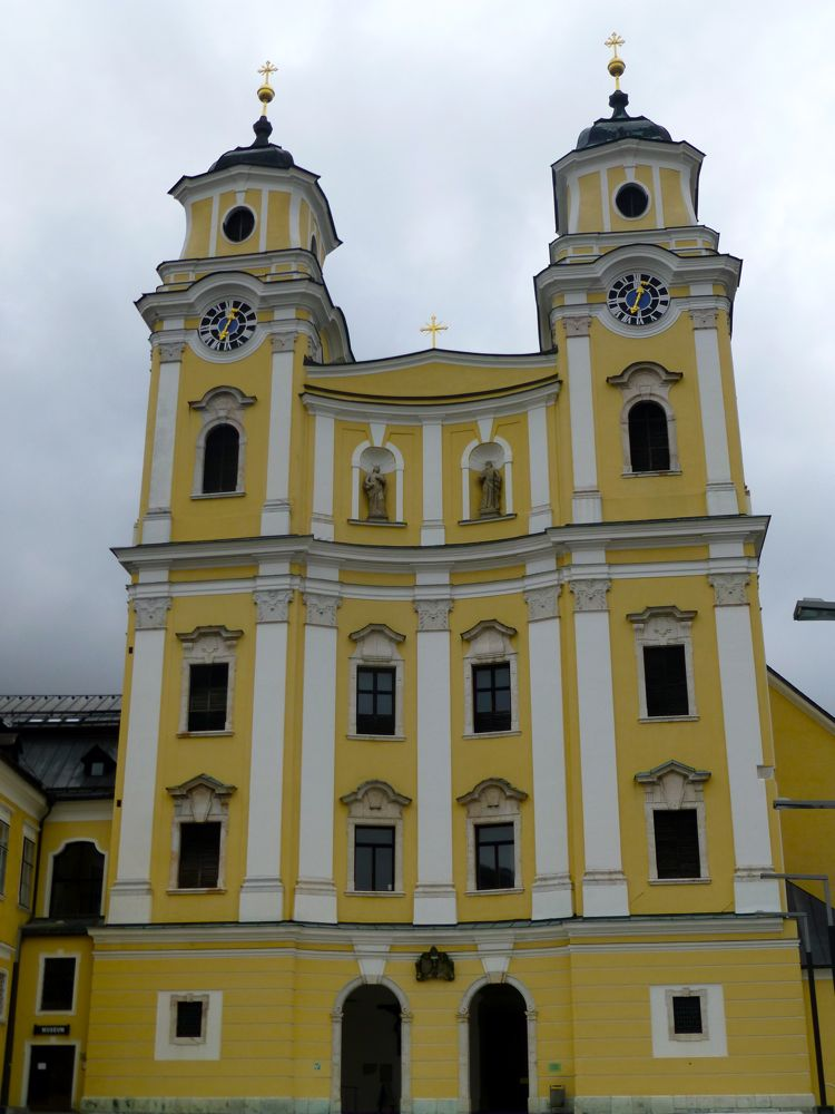 St Michael's, Mondsee, where Maria was married in the film Sound of Music