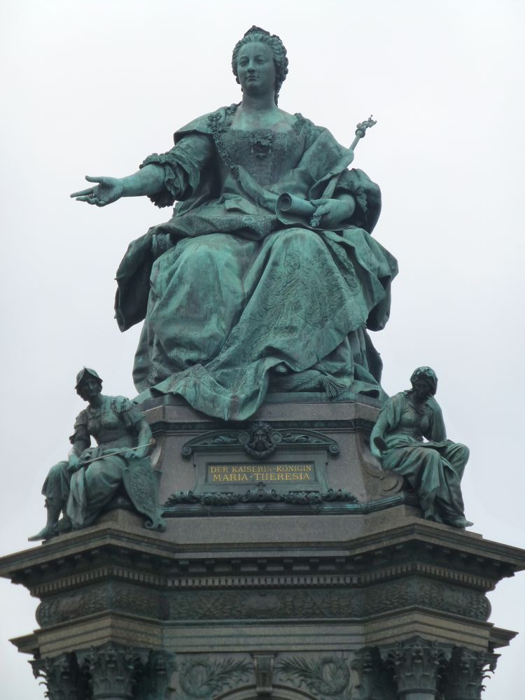 Statue of Marie Therese,Vienna