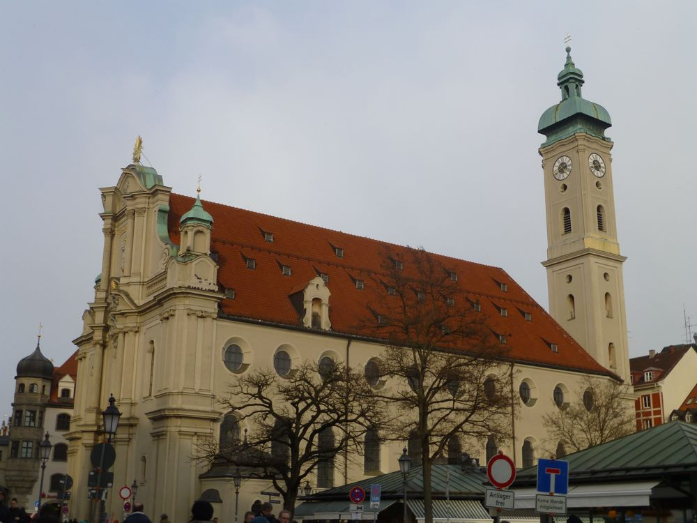 Helilig Geist Kirche, Munich, Germany