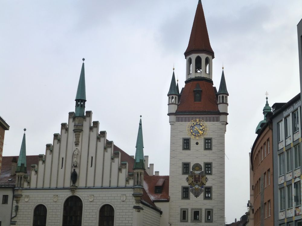 Old Town Hall, (Altes Rathaus), Munich, Germany