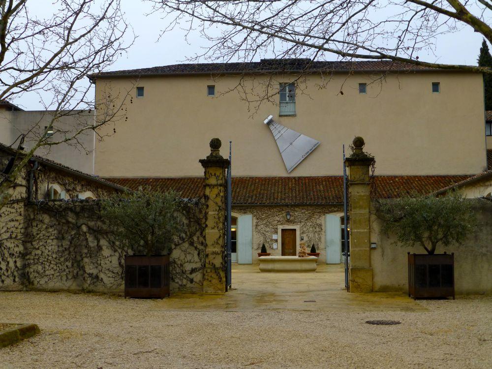 Outside Chateau La Verrerie, Luberon, Provence