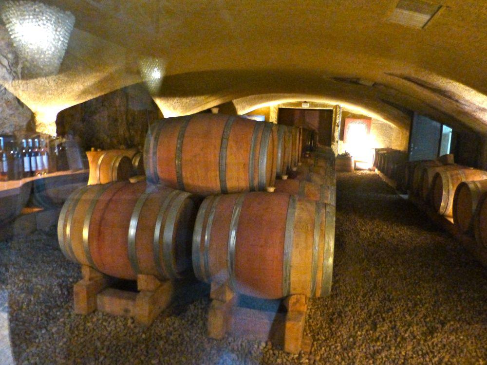 Wine Barrels Domaine de Marie, Menerbes, Luberon, Provence, France