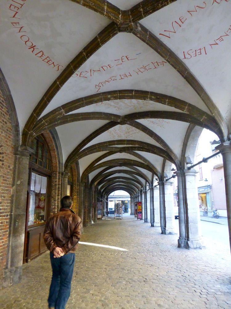Archways of Bruges, Belgium