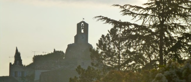 The church in Lourmarin, The Luberon Valley, Provence, France