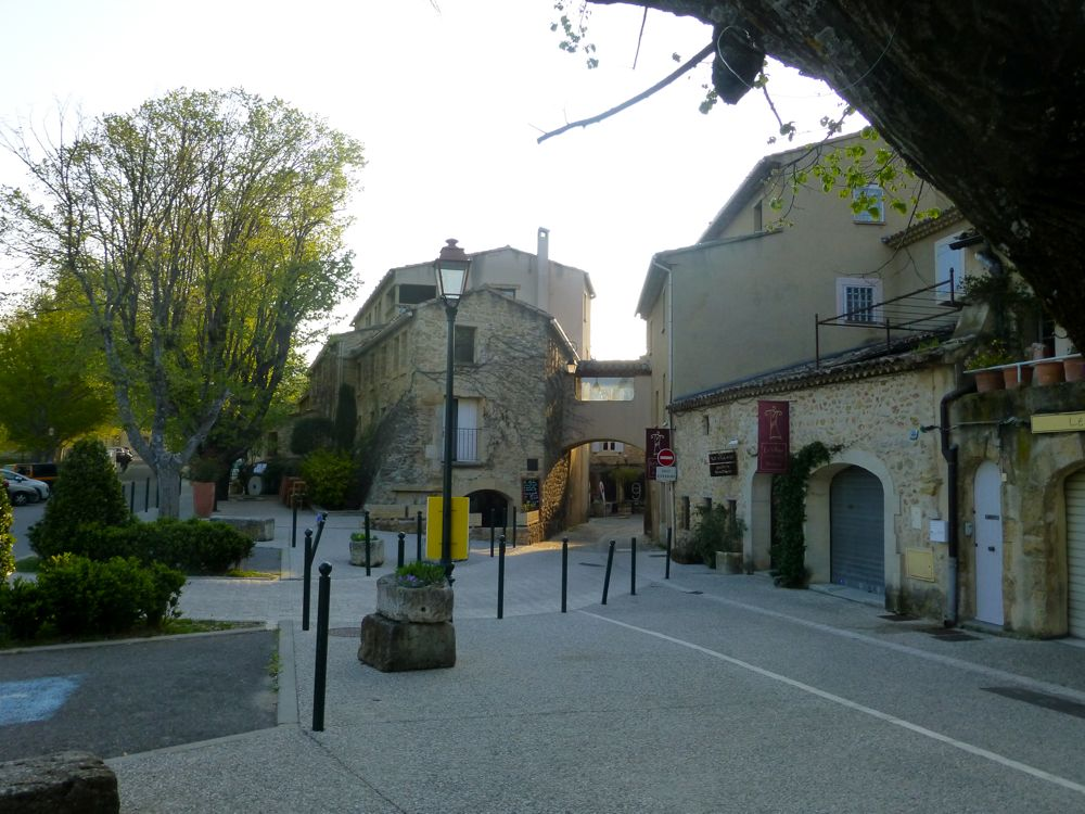 In Lourmarin the early morning, The Luberon Valley, Provence, France