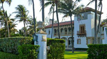 Mansion in West Palm Beach, Florida, USA