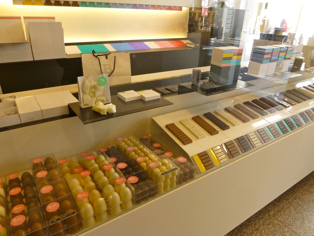 More Belgian chocolates in Bruges, Belgium
