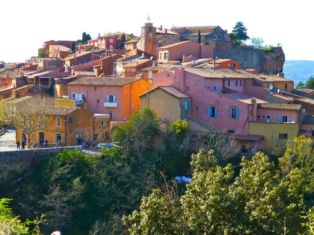 Rousillon, Luberon, Provence, France