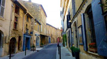 Street in Lourmarin, Luberon, Provence, France