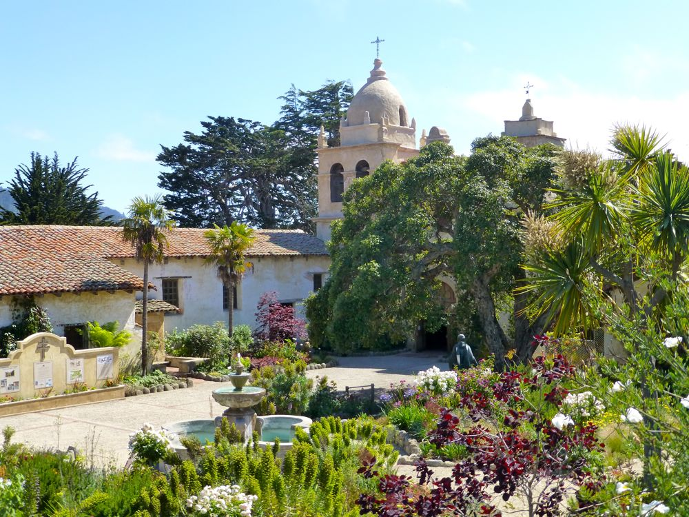 The Carmel Mission, Carmel, California