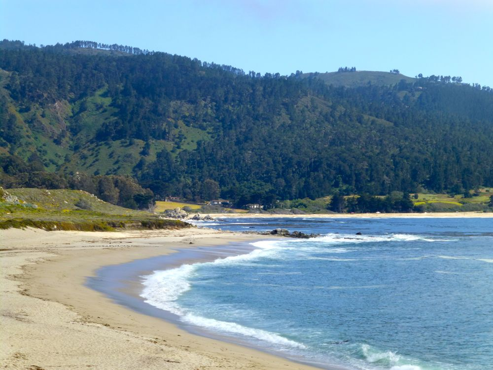 View at River Beach, Carmel, California