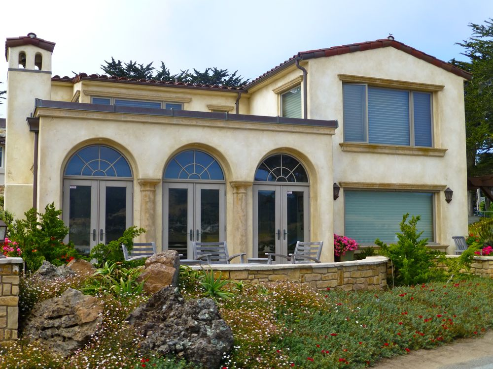 Beautiful stunning and unique the homes of carmel by the for Spanish style shutters
