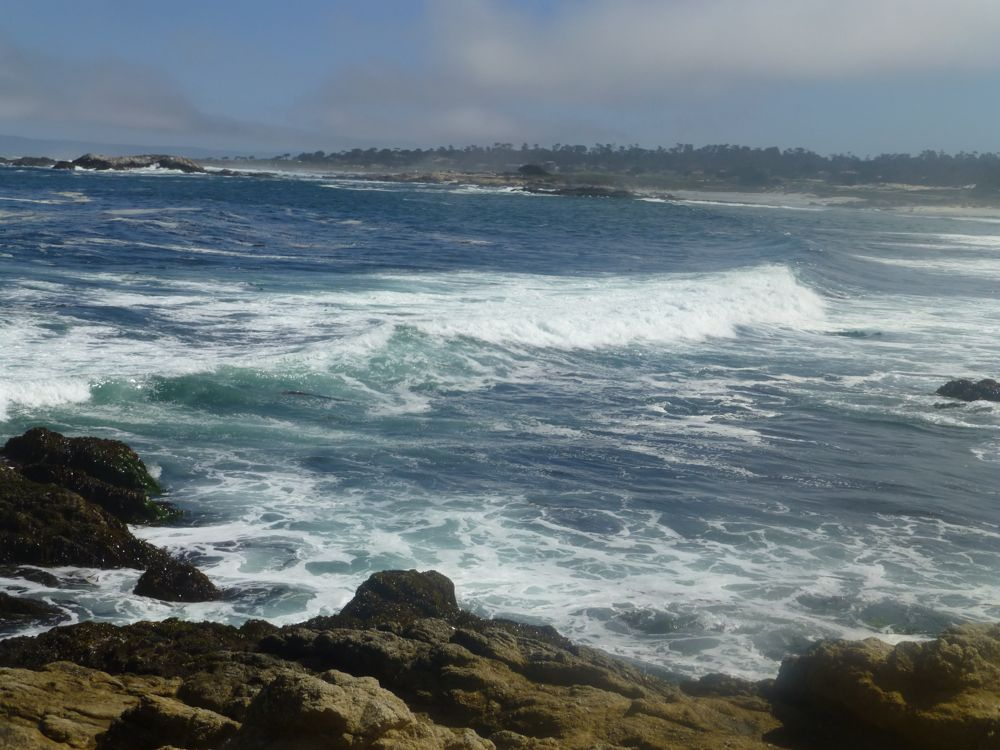 The Pacific Ocean, 17 Mile Drive CaliforniaThe Pacific Ocean, 17 Mile Drive California