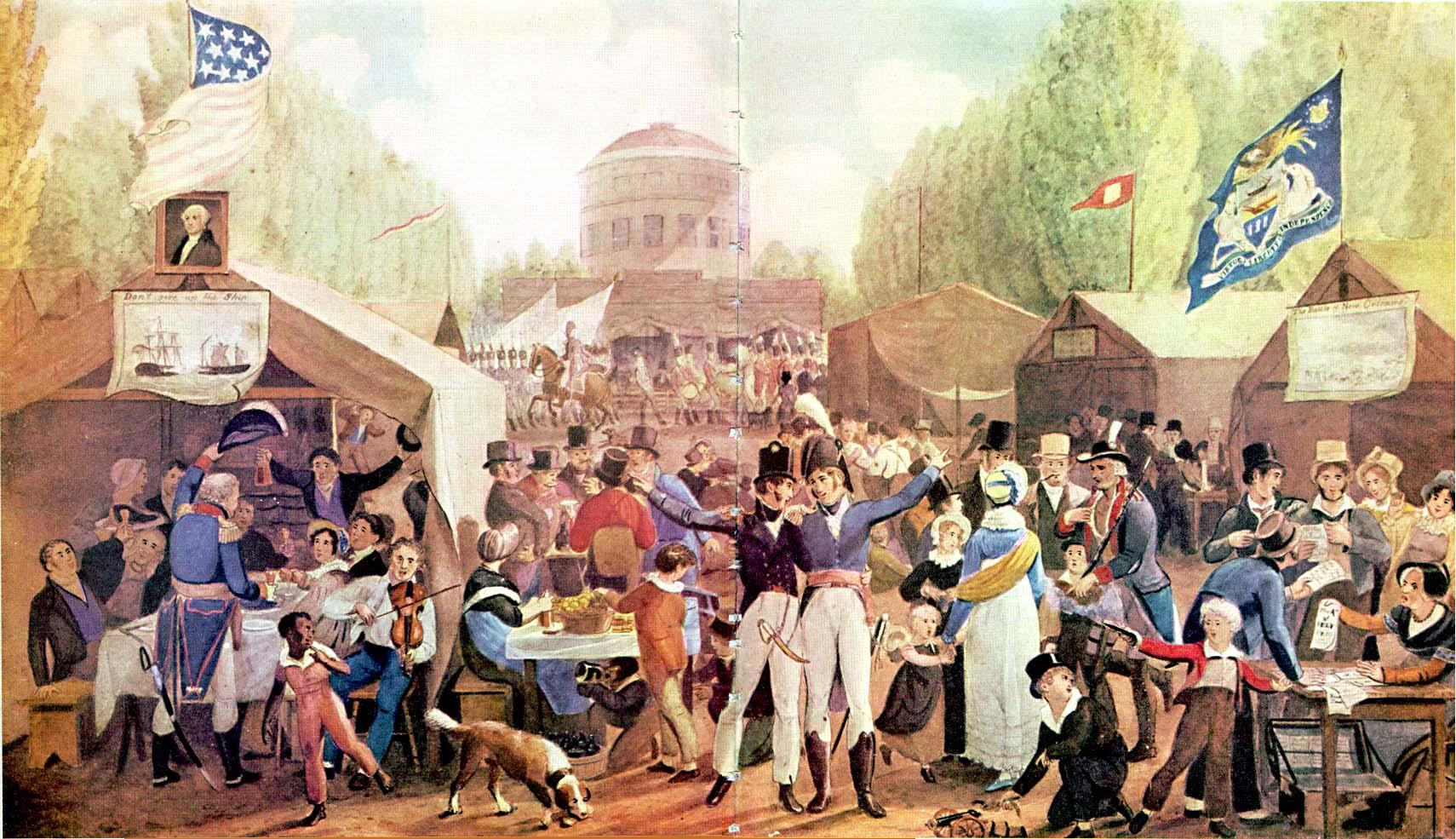 1819 4th of July in Philadelphia