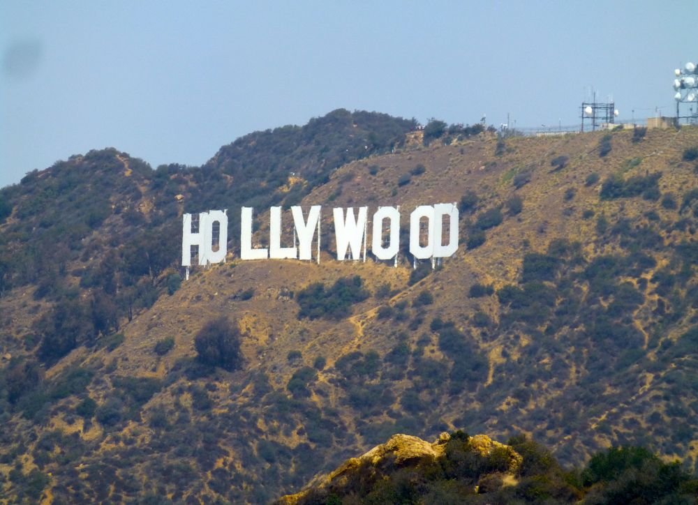 The Hollywood Sign from the Griffith Observatory