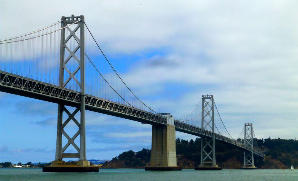 Bay Bridge View America's Cup 2013 San Francisco