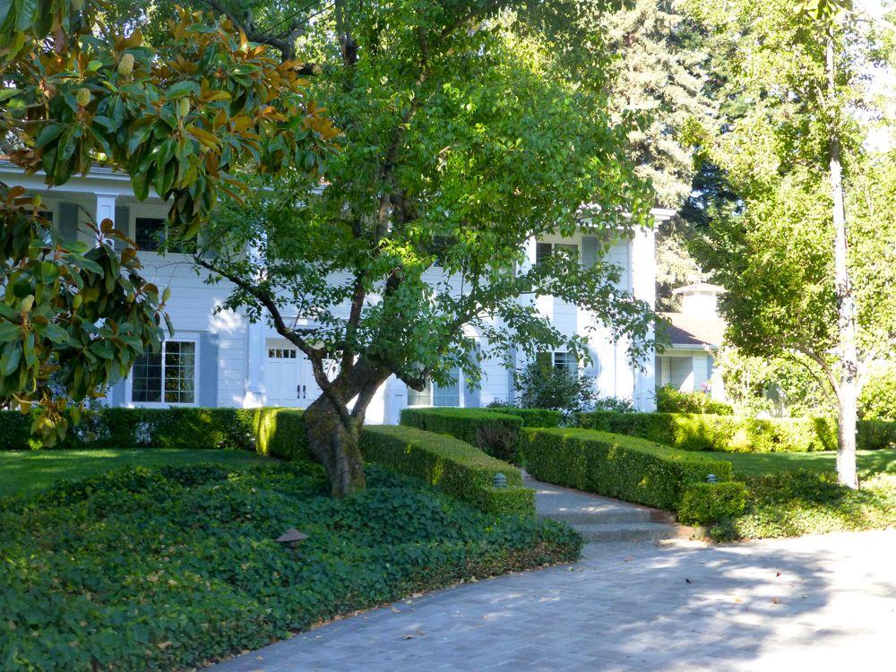 Outside Danville house on a morning walk Danville CA USA