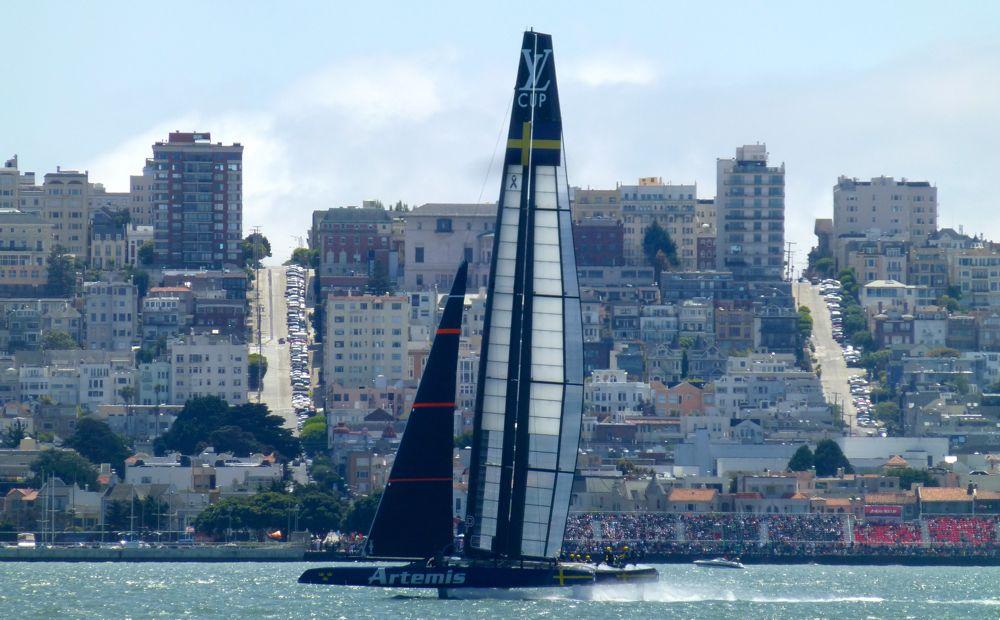 Swedish Artemis @ America's Cup San Francisco 2013