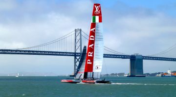 Team Italia America's Cup Bay Bridge San Francisco